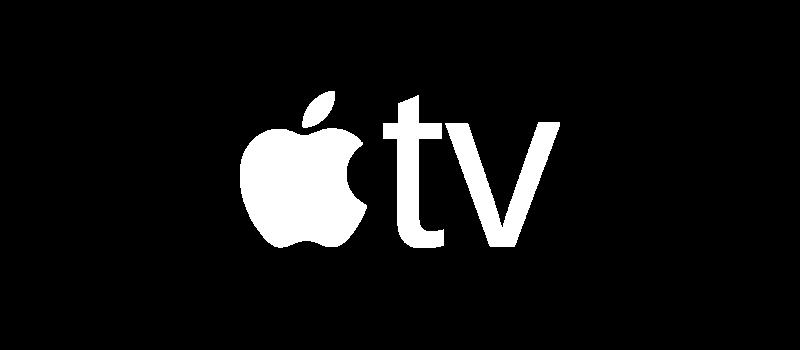 Apple TV White Logo