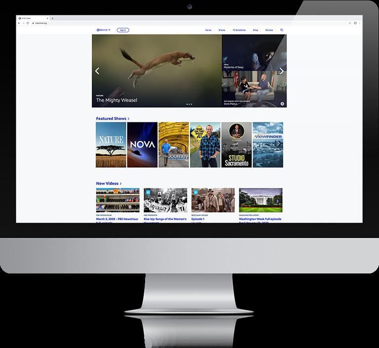 PBS on iMac Screen